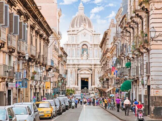 Roteiro de 1 dia em Catania