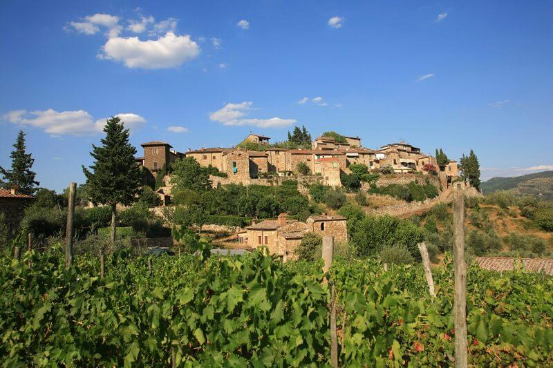 Vinícola Montefioralle Winery em Chianti na Toscana