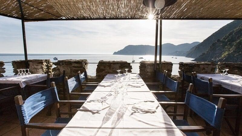 Melhores restaurantes em Vernazza