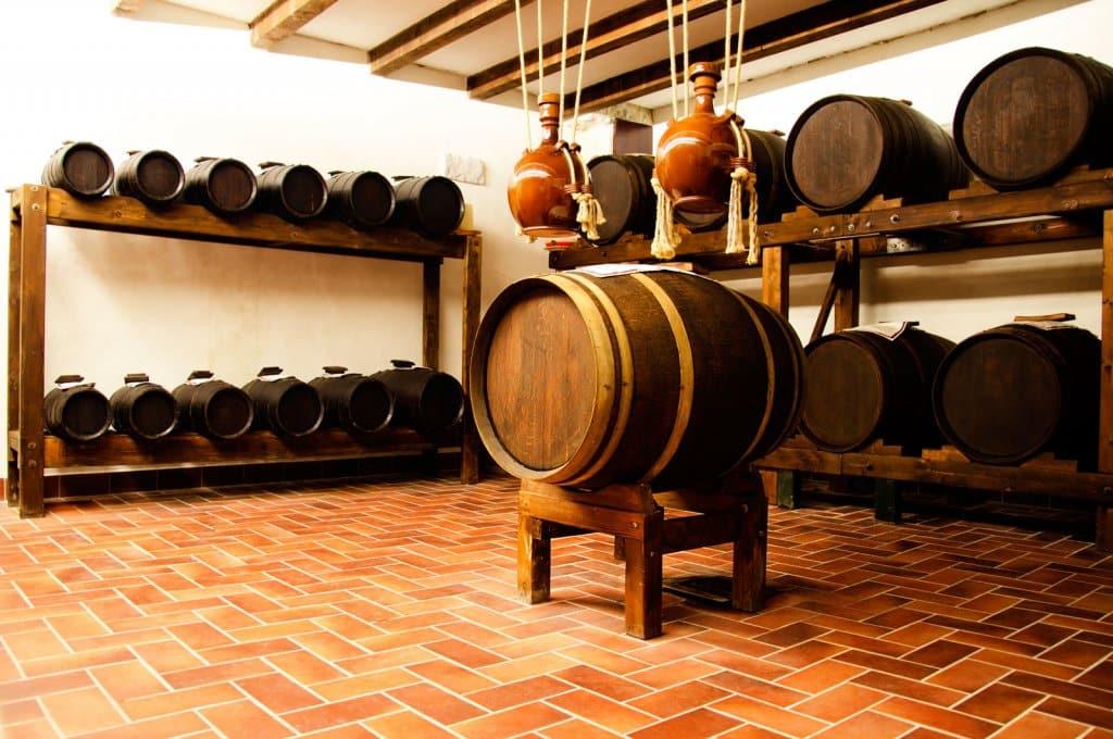 Vinícola Tenuta Casanova na região Chianti na Toscana