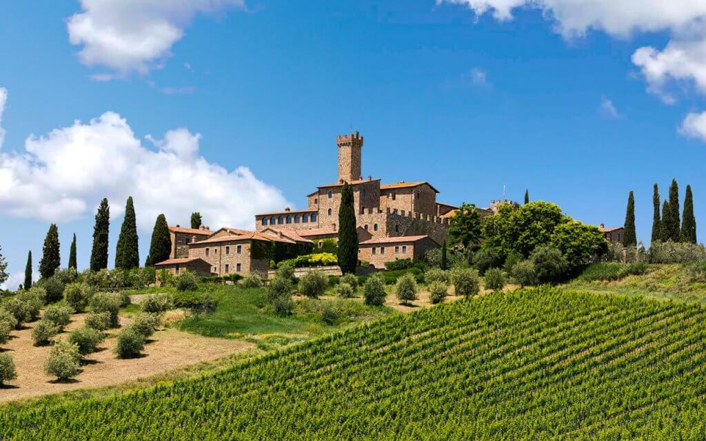 Vinícola Castello Banfi Wine Estate em Brunello