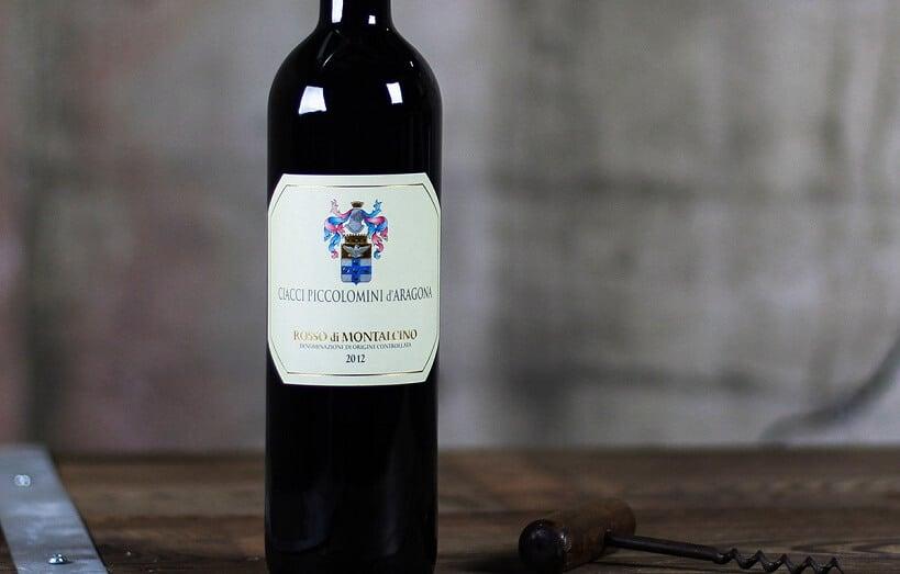 Vinho da vinícola Ciacci Piccolomini d'Aragona