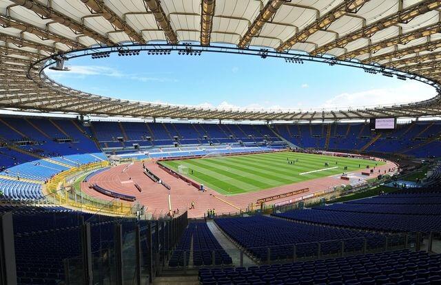 Assistir a jogos de futebol do Roma na Itália