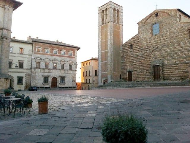 Piazza Grande em Montepulciano