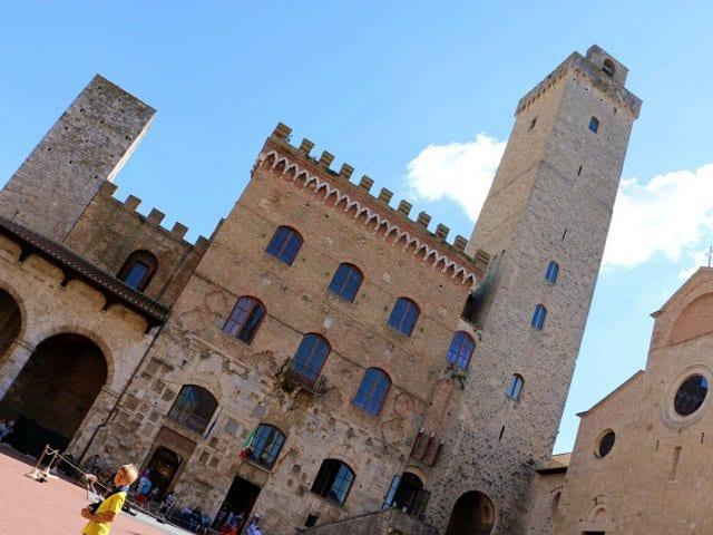 Torre Grossa em San Gimignano