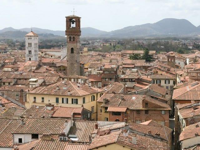 Mapa turístico de Lucca