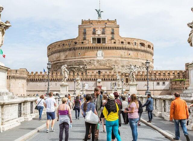 Ingressos para o Castelo Sant'Angelo em Roma
