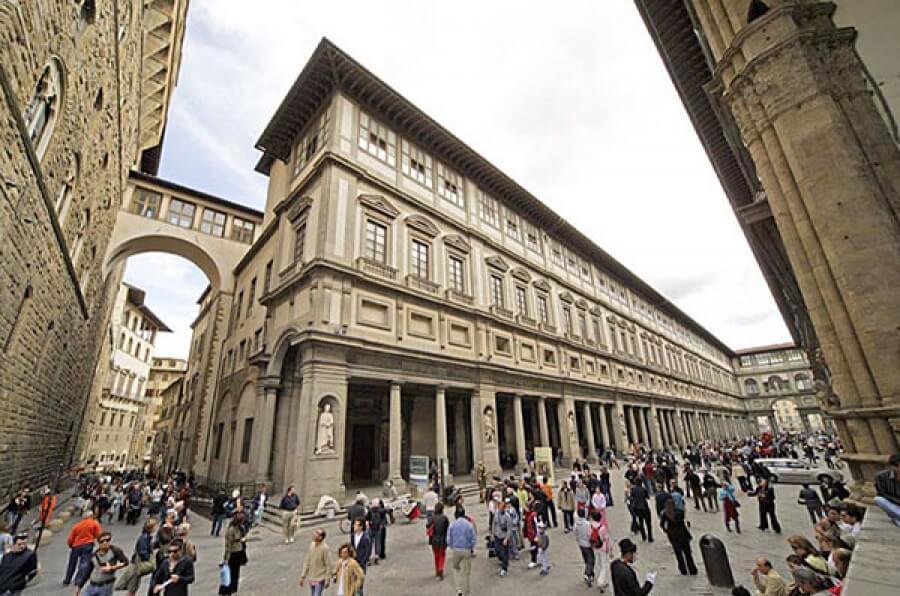 Galeria Uffizi em Florença