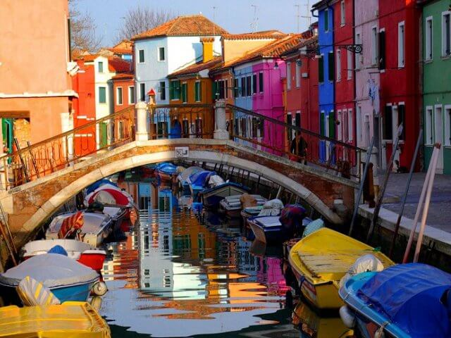 Ingressos para excursão a Burano e Murano