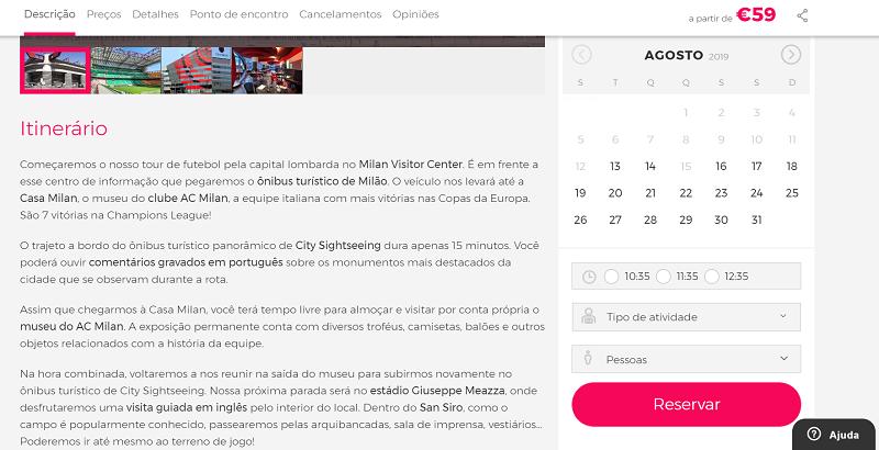 Civtatis para ingressos para o Tour Amantes do Futebol: San Siro & Casa Milan
