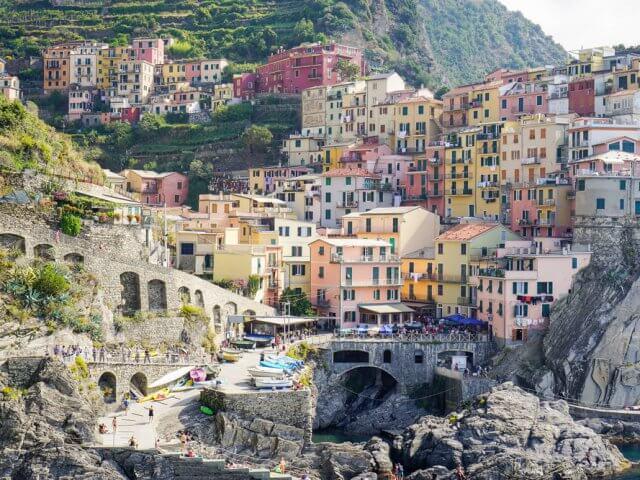Passeio por Cinque Terre nas redondezas de Milão