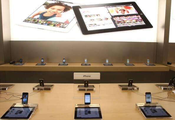 Compra de iPhone 8 em Roma
