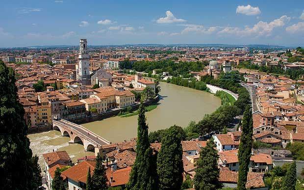 Passeio por Verona nas redondezas de Milão