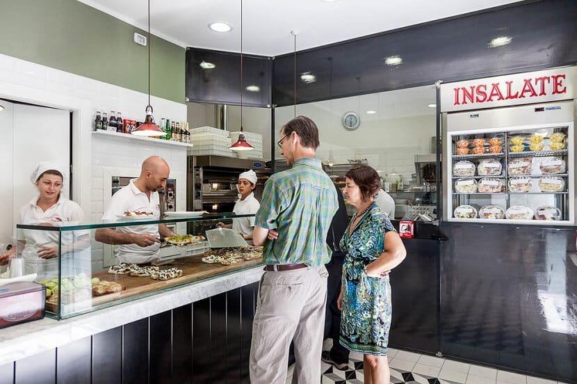 Restaurante Pinsere em Roma