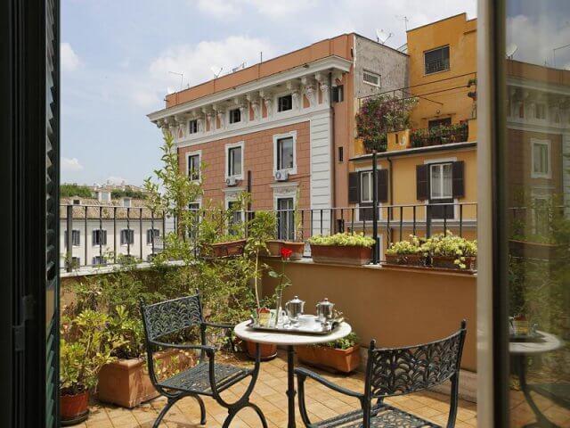 Hotéis bons e baratos em Roma