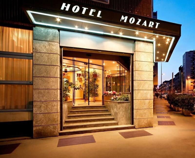 Hotel Mozarti em Milão