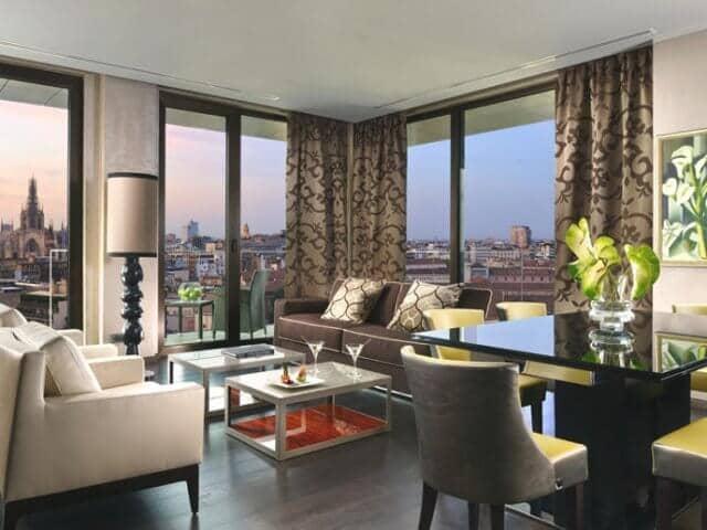 Hotéis de luxo em Milão