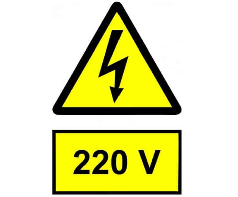 Corrente elétrica de 220V na Espanha