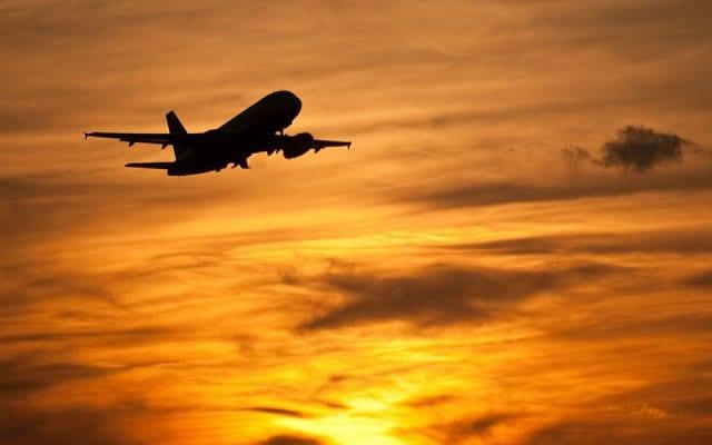 Tempo de viagem de avião até a Itália