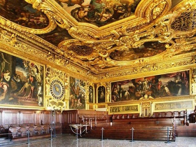 Ingressos para visita guiada pelo Palácio Ducal