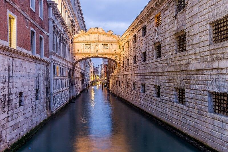 Ponte dos Suspiros no Palácio Ducal