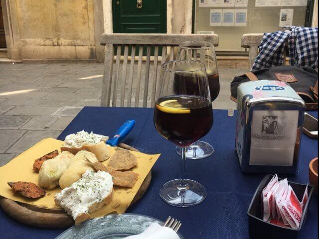 Aperitivo em Veneza