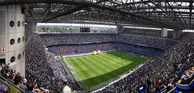 Estádio San Siro em Milão