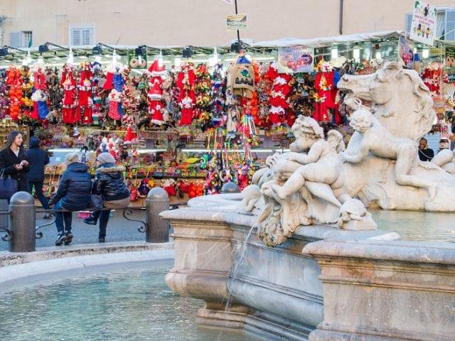 Mercados de Natal de Roma