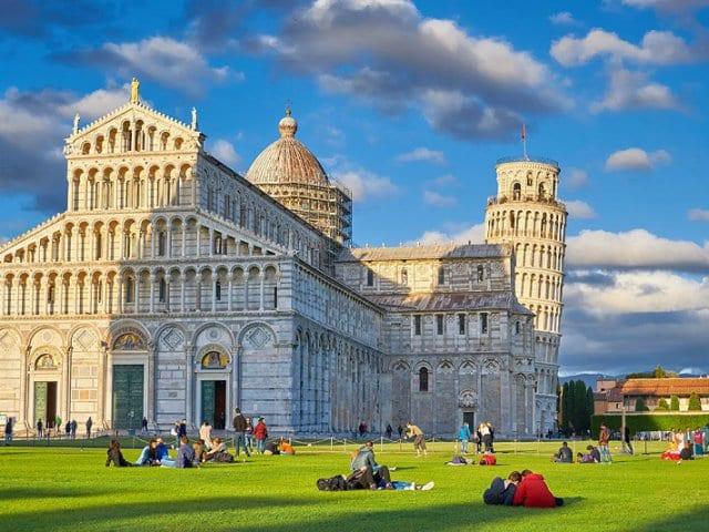 Clima e temperatura em Pisa