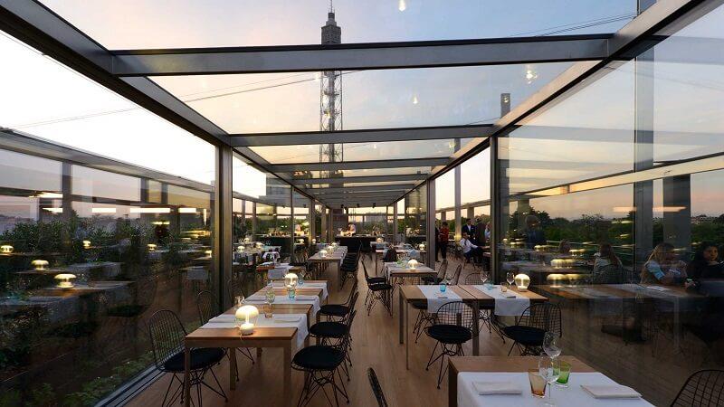 Restaurante La Triennale em Milão