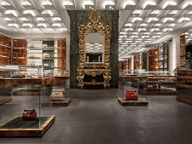 Quadrilátero da moda em Milão