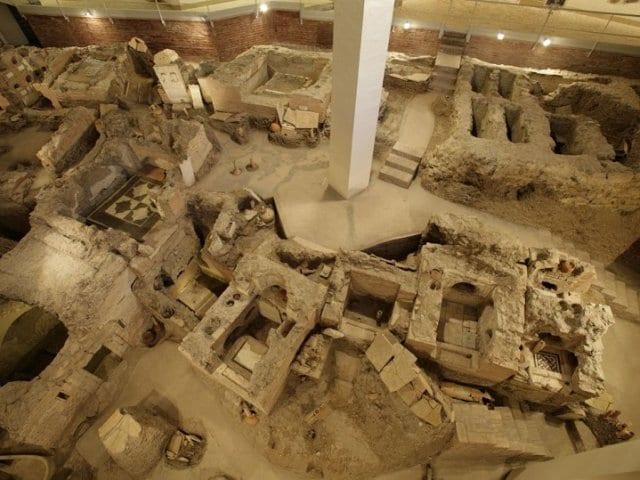 Necrópole do Vaticano em Roma