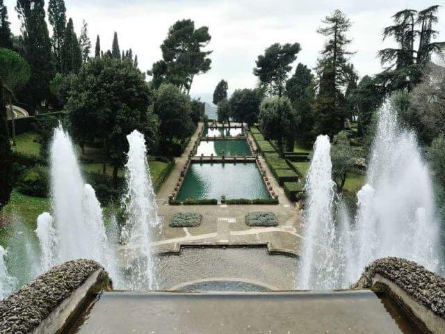 Pontos turísticos em Tivoli
