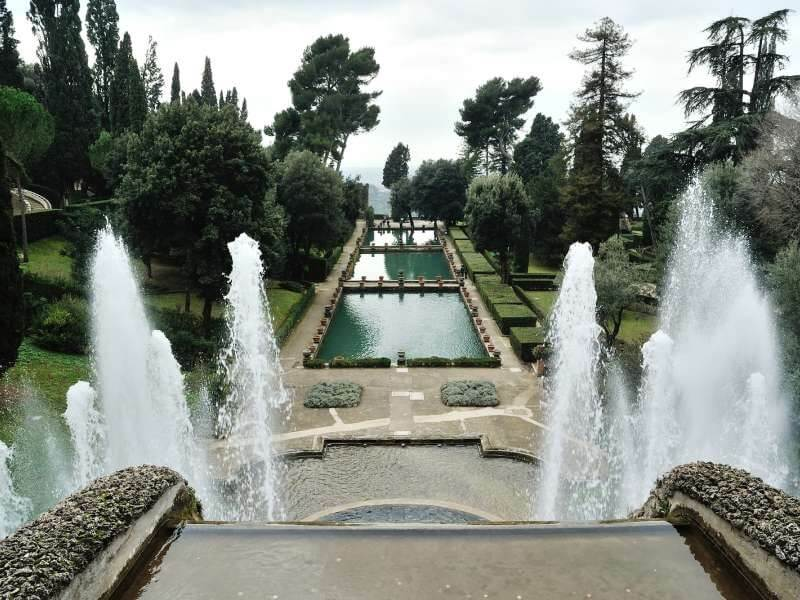 Villa d'Este em Tivoli