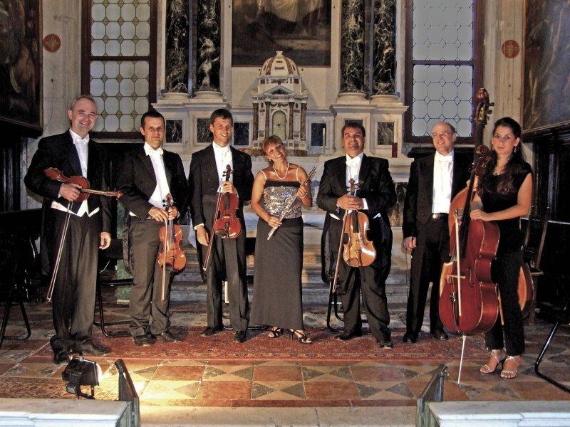 Músicos da orquestra Collegium Ducale