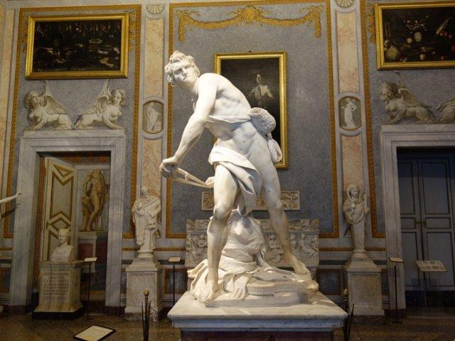 Ingressos para visita guiada pela Galeria Borghese em Roma