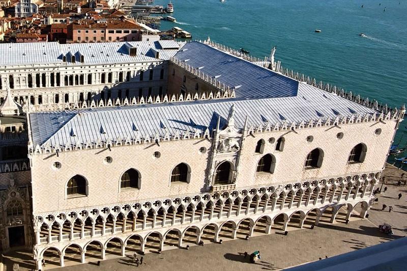 Palácio Ducal visto por cima