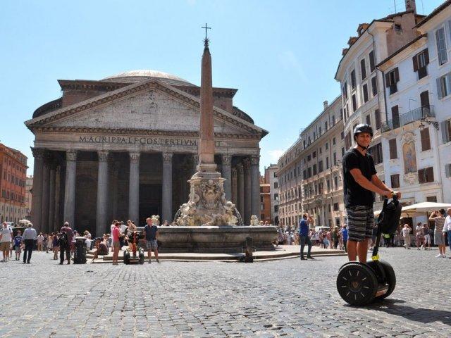 Ingressos para tour de segway por Roma