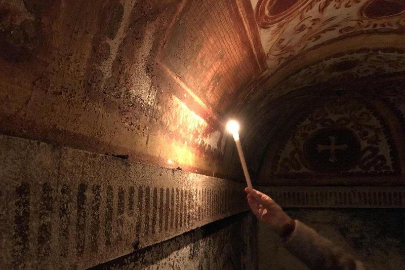 Túneis subterrâneos em Veneza
