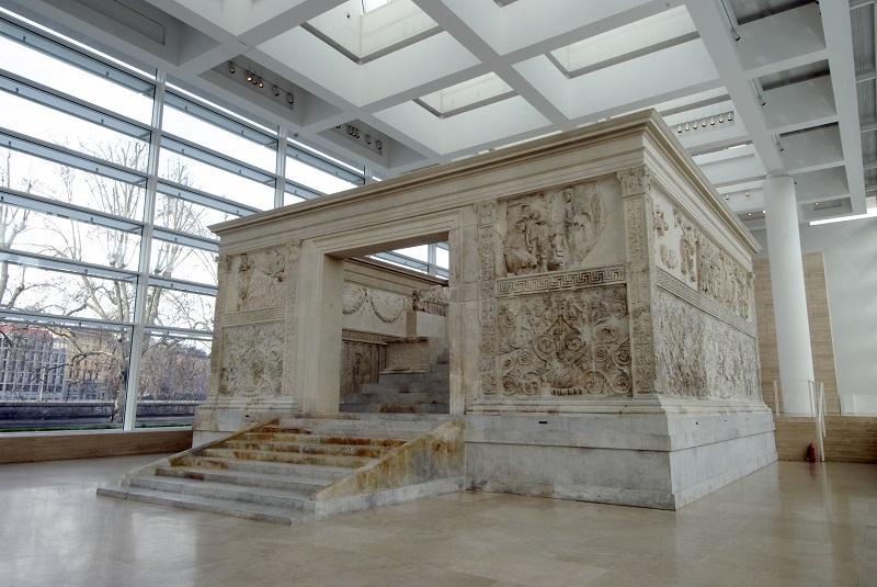 Monumento Ara Pacis em Roma