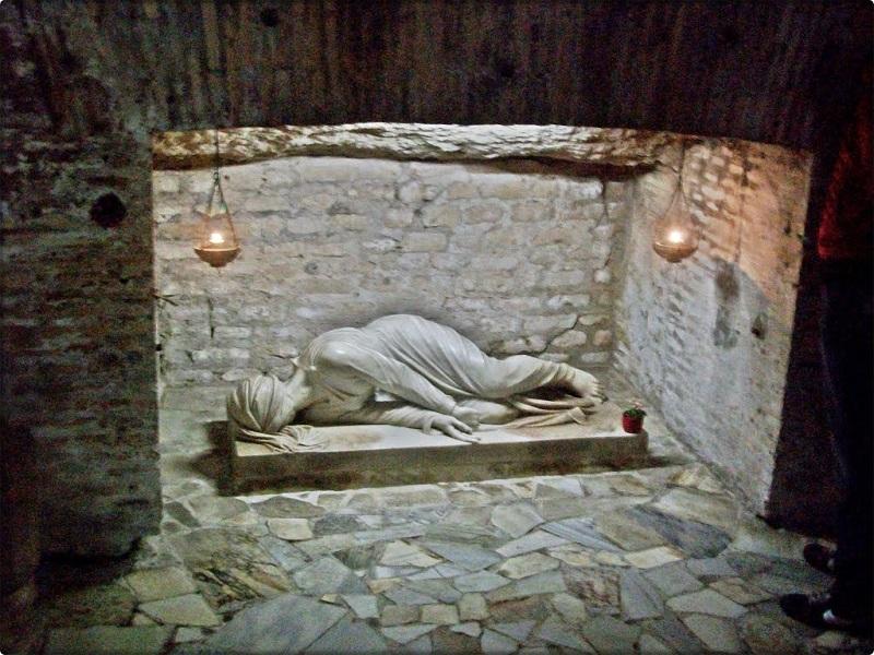 Catacumba de São Calisto em Roma