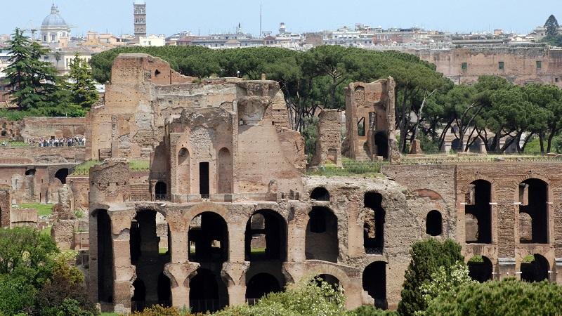 Monte Palatino em Roma