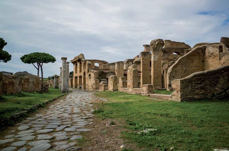 Ostia Antica em Roma