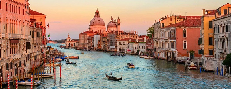 Planejamento de viagem na Itália
