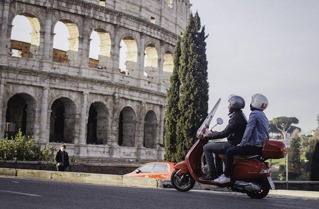 Ingressos para aluguel de motos em Roma