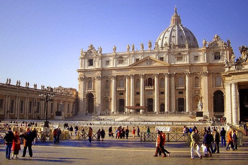 Basílica de São Pedro no Vaticano em Roma