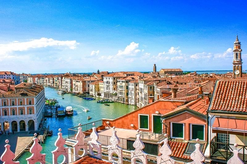 Planejamento de viagem em Veneza