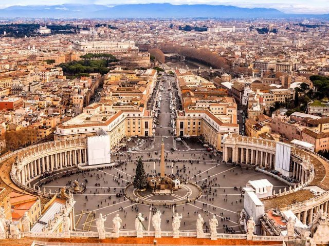 Ingressos para tour gratuito pelos arredores do Vaticano em Roma