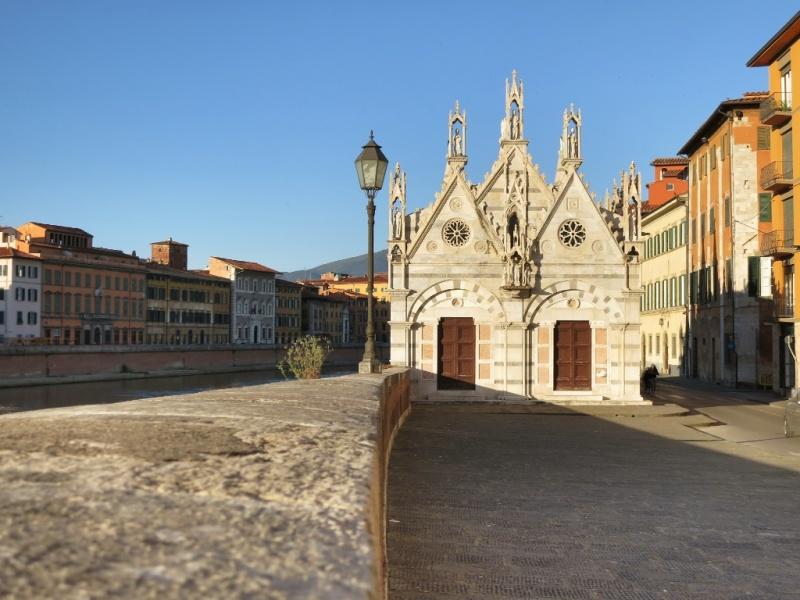 Igreja Santa Maria della Spina em Pisa