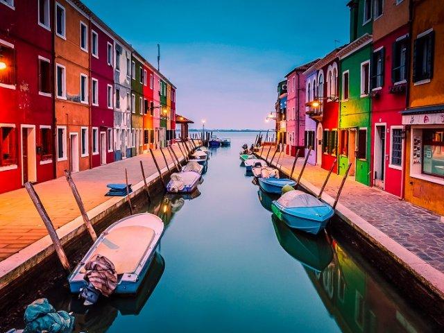 Remessas internacionais em Veneza